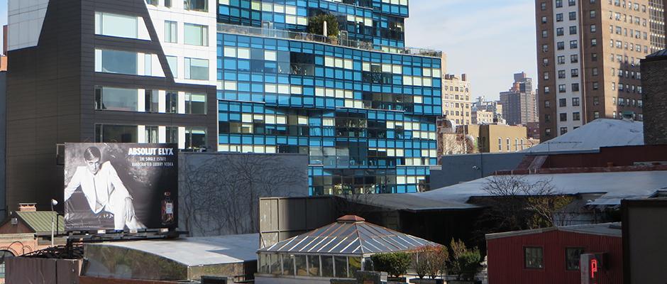 Rooftop gardens New York City Shape Urban